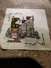 Finished cross stitch-Dept 56 Hetitage Collection- Dickens Village-Fagin's.