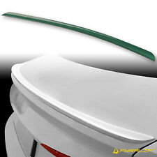 Fyralip Y22 Painted LX6W Green Trunk Lip Spoiler For Audi A5 S5 RS5 Sportback B9
