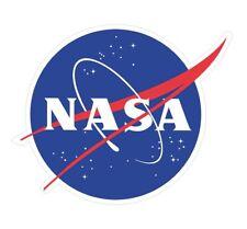 Sticker plastifié NASA - 10cm x 8cm