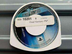 PSP FINAL FANTASY GAME CARTRIDGE