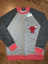 Chicago Bulls NBA 4 Her Womens Sweatshirt, Small