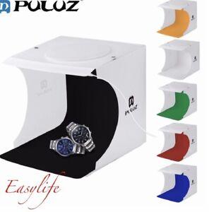 Light Room Photo Studio Photography LED Tent Kit Backdrop Cube Mini Box