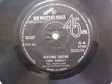 SUNIL GANGULY ELECTRIC GUITAR PREM PUJARI/TALASH INSTRUMENTAL BOLLYWOOD 1970 VG-