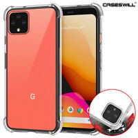 For Google Pixel 5a 5 4a 5G 4 3a 3 XL Slim Clear Shockproof Soft TPU Case Cover