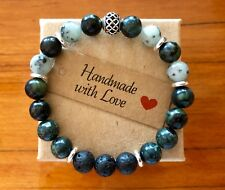 Essential Oil Gemstone Bracelet - PLUS... a 3ml doTERRA oil blend of your choice