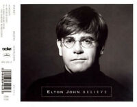 Elton John ‎Maxi CD Believe - Europe (EX+/M)