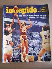 INTREPIDO n°31 1980 Los Angeles Lakers campioni del Mondo Basket  [G491]