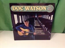 Doc Watson Riding The Midnight Train Vinyl, T Michael Coleman, Autographed