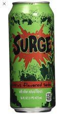 16oz Surge Soda Drink Can Unopened Coca-Cola Product Coke Full Citrus Flavored!