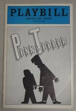 Penn and Teller Playbill May 1986 Westside Arts Theatre