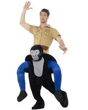 Costume Carnevale Gorilla Carry Me Taglia Unica Adulto PS 26591
