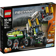 LEGO 42080 Technic Forest Machine Forklift Toy Truck 2 in 1 Model