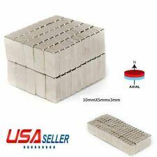 5 100pcs 1053mm Rectangle N50 Super Strong Block Neodymium Rare Earth Magnets