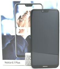 "USED - Nokia 6.1 Plus TA-1116 Dual Sim 64GB (FACTORY UNLOCKED)5.8"" 4GB RAM Blue"