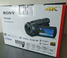 Sony FDR-AX33 4K Ultra HD Video Handycam Camcorder ✔NEW✔