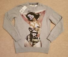 "FLY53 ""CONJURE"" SWEATSHIRT. SIZE S (40""). COTTON BLEND. GREY. RRP £70"
