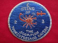 US Army 2nd Battalion 3rd Aviation Regiment C STING OF THE SCORPION Patch