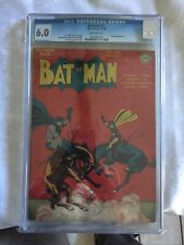 BATMAN #29 CGC 6.0 OFF-WHITE PAGES 1944