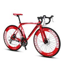 Road Bike Sports Racing Bicycle 16 Speed 700Cx70MM Wheel 50CM XC700 US Warehouse