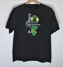Monster Energy Supercross Graphic T-Shirt Black size Large