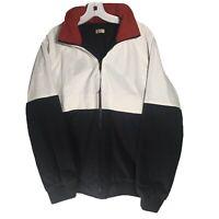John Galt Brandy Melville Colorblock Windbreaker Jacket Coat Women's Size M