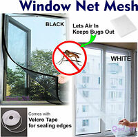 ~ WINDOW MESH Screen Net For Bugs Fly Insect Mosquito Grill Screen Cover