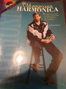 Bluegrass Harmonica   - includes CD. Sheet Music