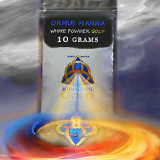 MONATOMIC GOLD ORMUS POWDER | 10g + | Most Potent Ormus + Best Price on Ebay! A+