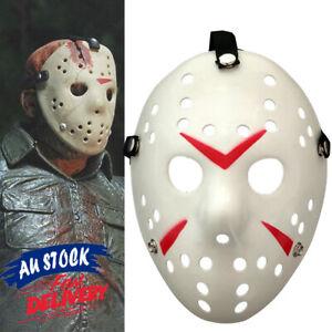 The 13th Horror Movie Halloween Hockey Jason Voorhees Mask Costume Friday Prop
