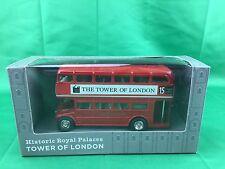 Historic Royal Palaces - Tower Of London - London Bus  Die Cast - (SHELF WEAR)
