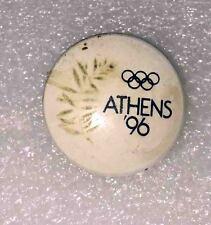 olympic pin BID ATHENS 1996 GREECE rare