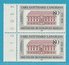 Berlin aus 1982 ** postfrisch MiNr.684 - G. Langhans! Bogenzähler!