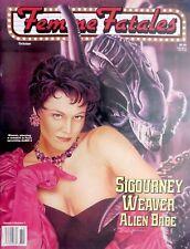 Femme Fatales Sigourney Weaver Alien Babe Magazine Vol. 5 # 4 Aliens