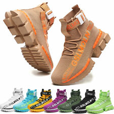 Men's Fashion Athletic Sneakers Sports  Outdoor Casual Running Tennis Shoes Gym