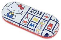 Sanrio glasses case Hello Kitty hard case steel white SR-800KP-15