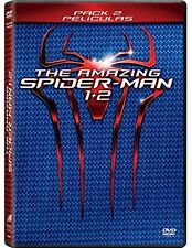 THE AMAZING SPIDER-MAN 1 + THE AMAZING SPIDER-MAN 2 DVD NUEVO ( SIN ABRIR )