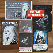 JAPAN BANNER+MAG+FLYER+CLEARFILE! AVRIL LAVIGNE HEAD ABOVE WATER BS CD+CARD CASE