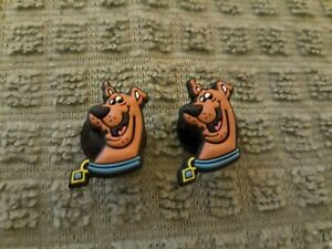 Lot of 2 Scooby Doo shoe charms for Crocs shoes. Other uses Craft, Scrapbook