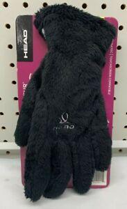 Head Womens Digital Sensatec Touch Screen ThermalFUR Gloves Size S Small Black