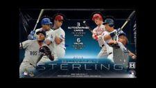 2013 Bowman Sterling Baseball Factory Sealed Hobby Box 18 AUTO's  AARON JUDGE?