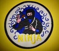 Vintage 1970's Ninjutsu Ninja Martial Arts MMA Shinobi Uniform Gi Patch A