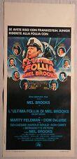 Locandina L'ULTIMA FOLLIA DI MEL BROOKS 1°ED.ITAL.1976 PAUL NEWMAN, LIZA MINELLI
