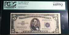 $5 1953-A Silver Certificate PCGS Very Choice New 64 PPQ
