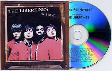 THE LIBERTINES Time For Heroes UK 13-trk promo test CD Pete Doherty Best Of
