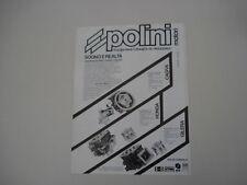 advertising Pubblicità 1986 POLINI X CAGIVA/GILERA/HOND