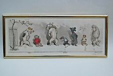 Dirty Dogs of Paris Comme Nos Maitres: Boris O'Klein Vintage Orig. Art Etching