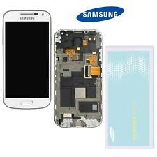 Samsung Galaxy S4 Mini i9195 LCD Display Weiss + Rahmen  ⫸ Original Ware  ⫷