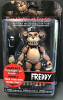 "Five Nights at Freddy's 6"" Articulated Funko Action Figure FREDDY Build Spring"