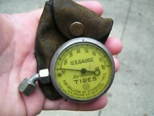 Original 1920 's- 1930s Vintage auto US Standard Tire gauge tool Ford chevy gm
