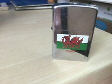 Welsh flag zippo vintage collectible lighter
